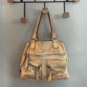 Tano Handbags leather bag with pockets